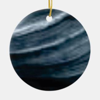 twist of lines ceramic ornament