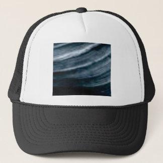 twist of lines trucker hat