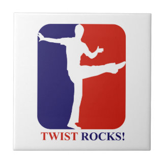 Twist Rocks rocks designs Ceramic Tile