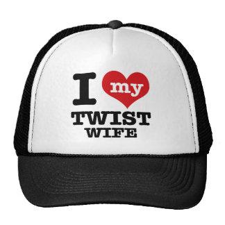 Twist wife trucker hat