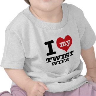 Twist wife t shirts