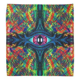 Twisted and Trippy Eyeball bandana