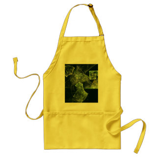 Twisted Balance Abstract Art Apron