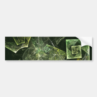 Twisted Balance Abstract Art Bumper Sticker