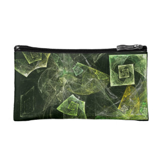 Twisted Balance Abstract Art Cosmetic Bag