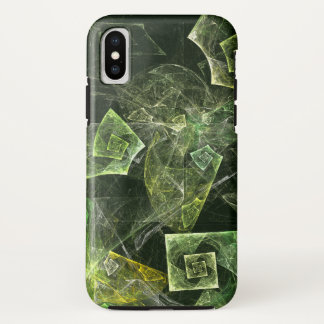 Twisted Balance Abstract Art iPhone X Case