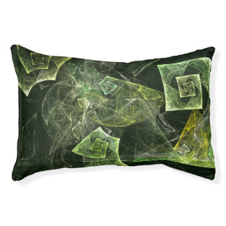 Twisted Balance Abstract Art Pet Bed