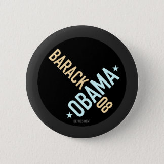 Twisted Barack Obama 08 Button