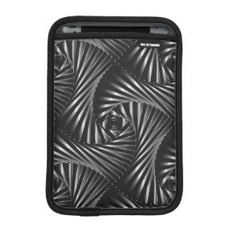 Twisted – Black Steel iPad Mini Sleeve