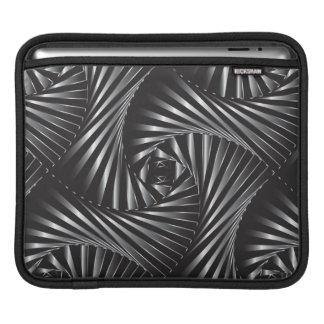 Twisted – Black Steel iPad Sleeve