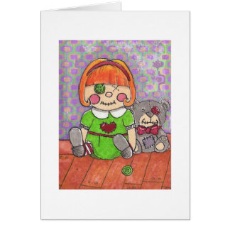 Twisted Christmas-Misfit Dolls Card