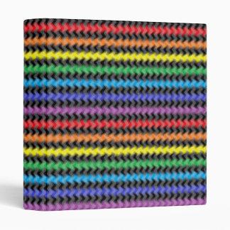 Twisted Colors Vinyl Binder