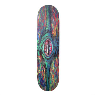 Twisted Eye Oil Painting Skate Board Decks
