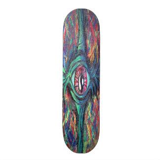 Twisted Eye Oil Painting Skateboard Decks