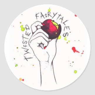 Twisted Fairytales Classic Round Sticker