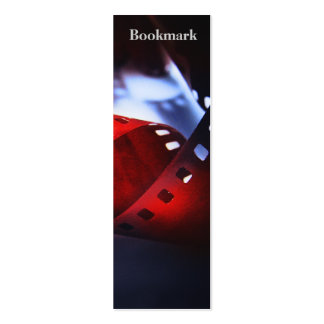 Twisted Film Bookmark Business Card