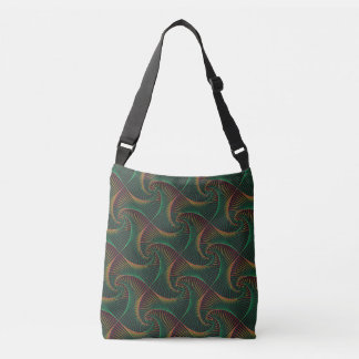 Twisted - Green and Red Crossbody Bag