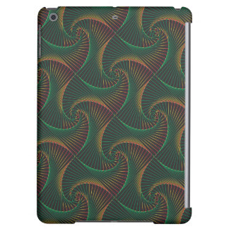 Twisted - Green & Red iPad Air Cover