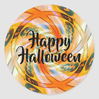 Twisted Happy Halloween Stickers