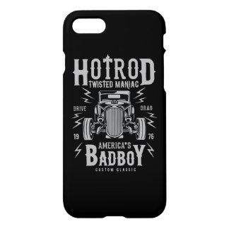 Twisted HotRod Glossy Phone Case