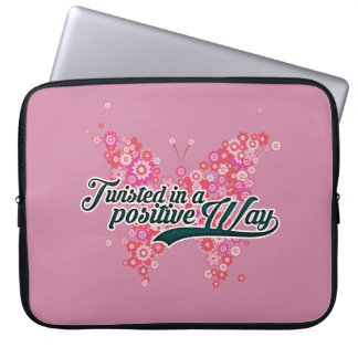 Twisted in a Positive Way Premium Laptop Sleeve