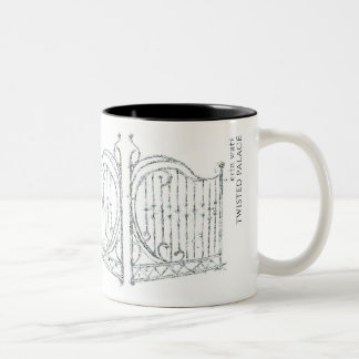 Twisted Palace mug with quote