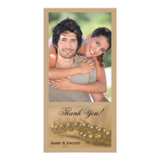 Twisted Pearls Thank You Photo Cards