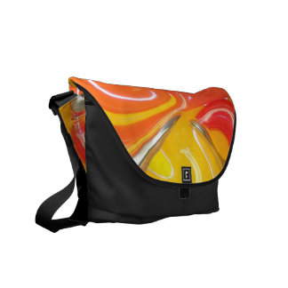 Twisted Photo Messenger Bag