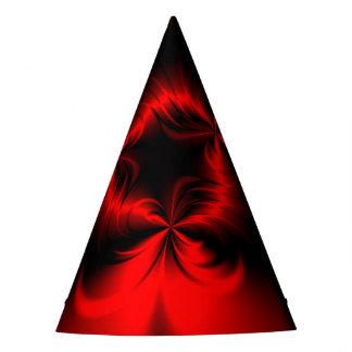 Twisted Red Party Hat