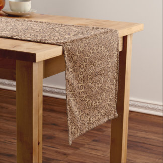 Twisted Rope  Kaleidoscope  Colorful Table Runner