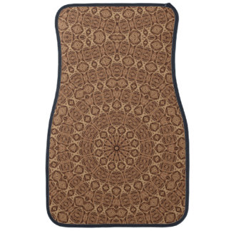 Twisted Rope  Vintage  Car Mats Front