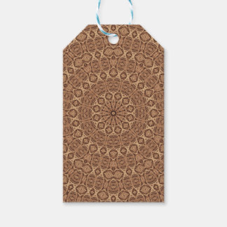 Twisted Rope Vintage Kaleidoscope Gift Tags