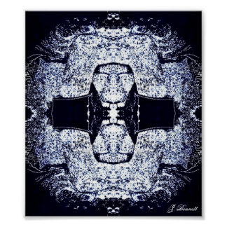 Twisted Rorschach Poster