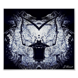 Twisted Rorschach Version 2 Poster