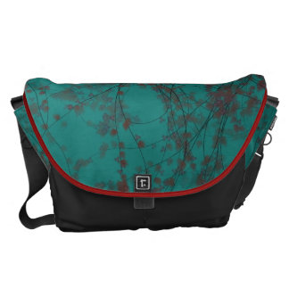 Twisted Tree Forest Messenger Bag