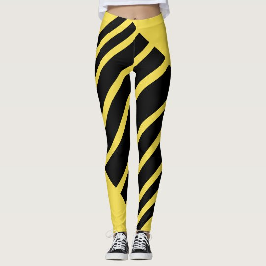 Twisted wasp leggings