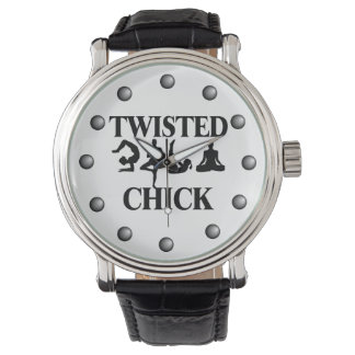 Twisted Yoga Chick Watch