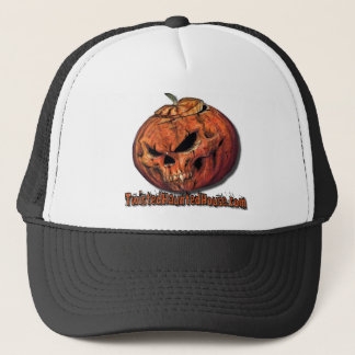 TwistedHauntedHouse.com simple Trucker Hat