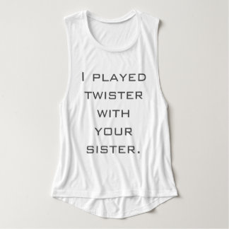 Twister With Your Sister Tank Top