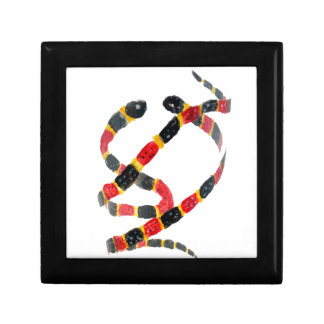 Twisting Snake Art Trinket Boxes
