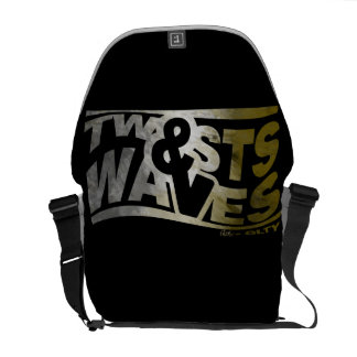 Twists & Waves Messenger/School Bag Messenger Bag