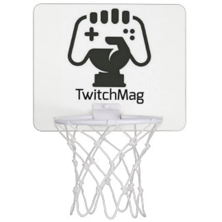 TwitchMag.com - Official Basketball Game Mini Basketball Hoop