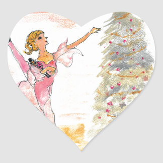 Twitt Clara and the Nutcracker 2016 Heart Sticker
