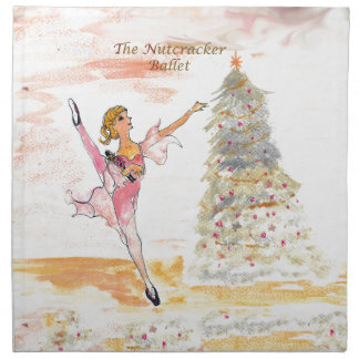 Twitt Clara and the Nutcracker 2016 Napkin