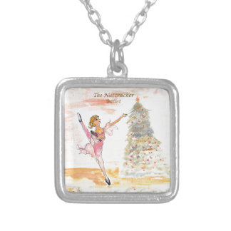Twitt Clara and the Nutcracker 2016 Silver Plated Necklace