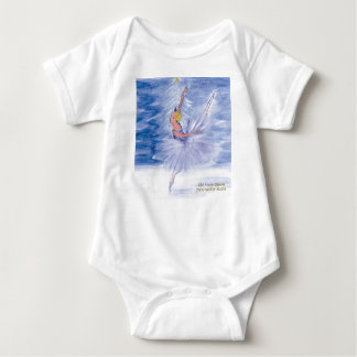 Twitt Snow Queen-Nutcracker Ballet by Marie L Baby Bodysuit