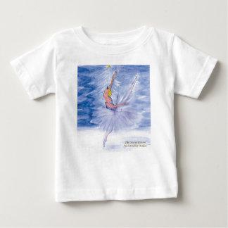 Twitt Snow Queen-Nutcracker Ballet by Marie L Baby T-Shirt