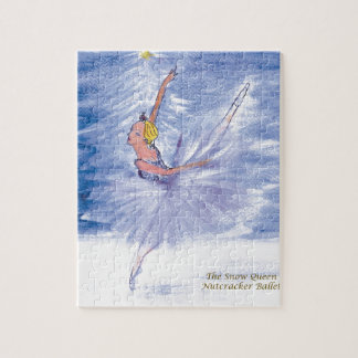 Twitt Snow Queen-Nutcracker Ballet by Marie L Jigsaw Puzzle