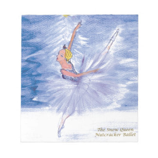 Twitt Snow Queen-Nutcracker Ballet by Marie L Notepad