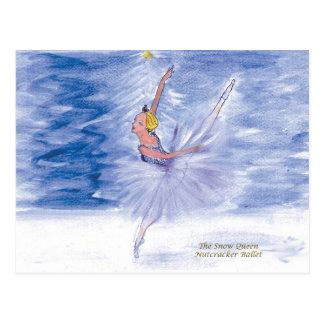 Twitt Snow Queen-Nutcracker Ballet by Marie L Postcard